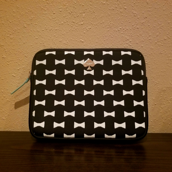 Kate spade bow tie padded tablet sleeve case
